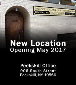 New Location in Peekskill!
