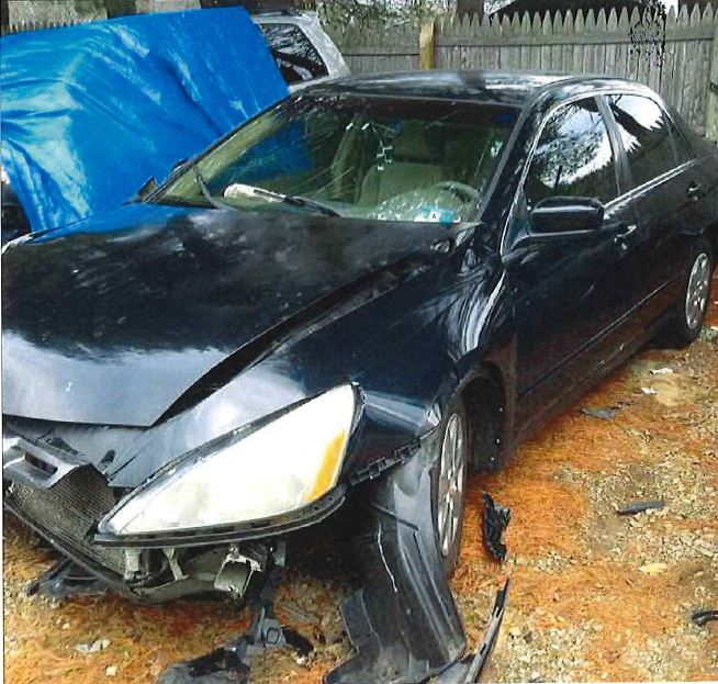 Defendant's Car PHOTO