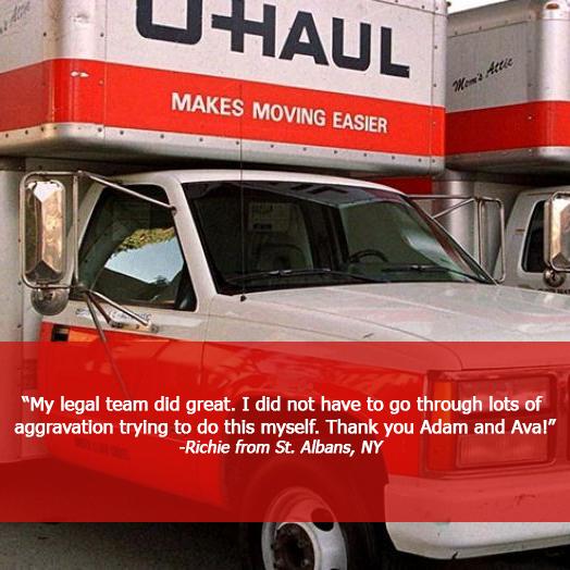 U haul accident settlement