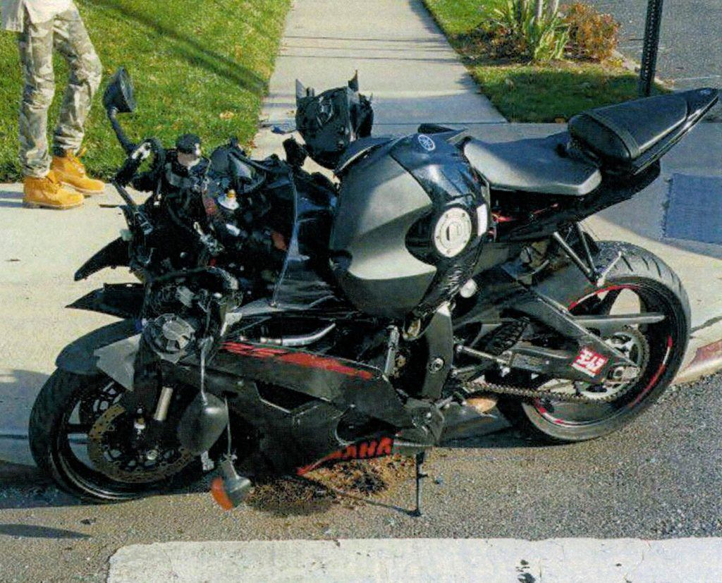 Queens motorcycle accident SM 2