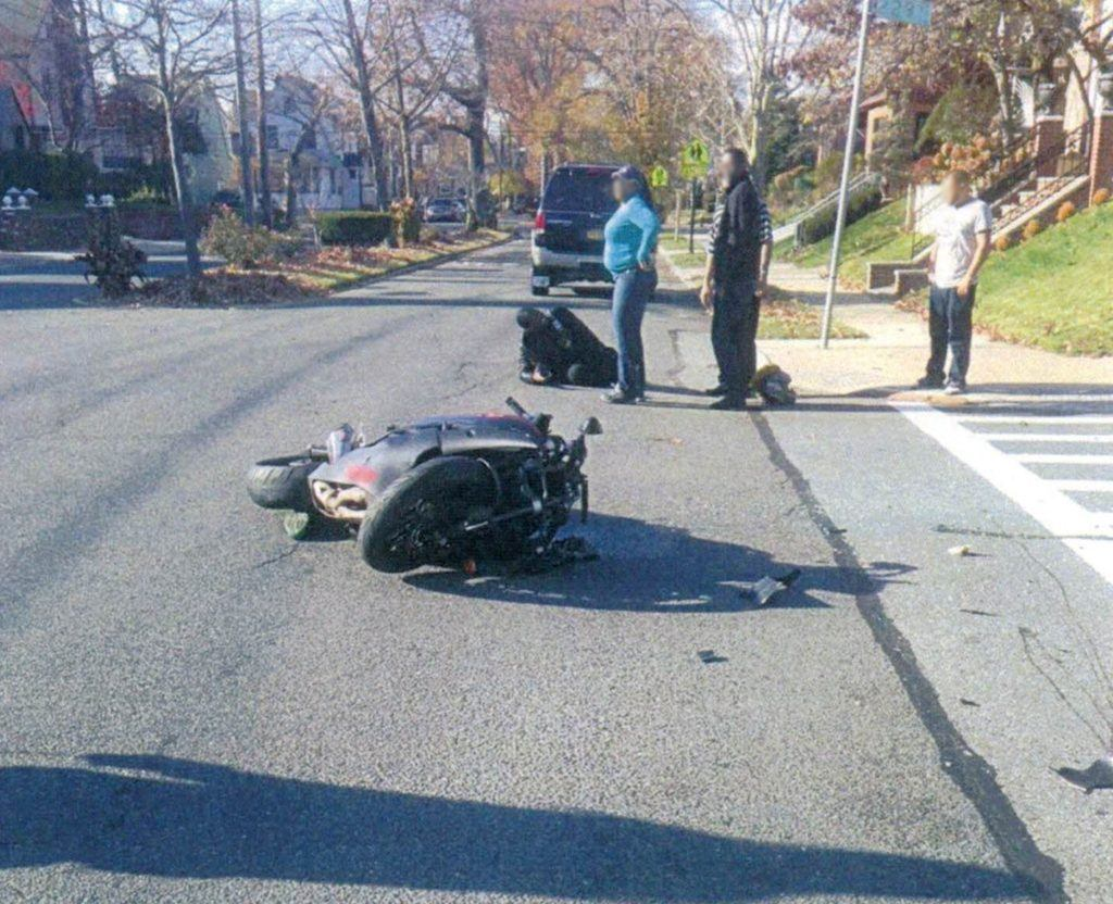 Queens motorcycle accident SM