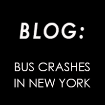 Bus crashes in New York