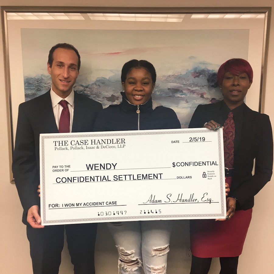 Bronx uninsured accident lawyer review Wendy