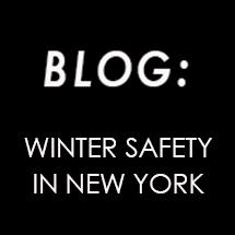 Winter Safety in New York